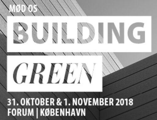 Climates deltager på Building Green 2018