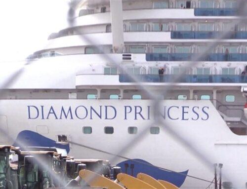 Coronavirus-spor fundet på Diamond Princess 17 dage efter, at passagererne rejste